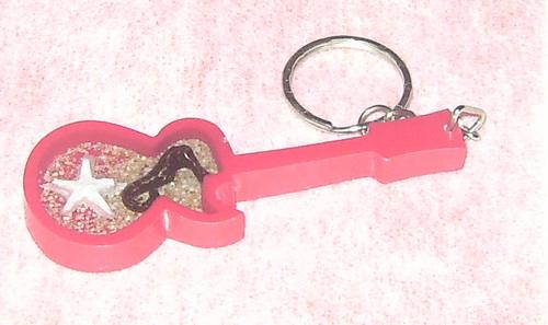 Gantungan Kunci Resin bentuk Gitar