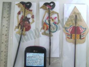 Souvenir Wayang Kulit Mini Biasa Indonesia