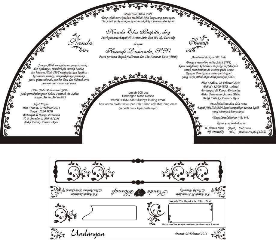 Contoh Design Undangan